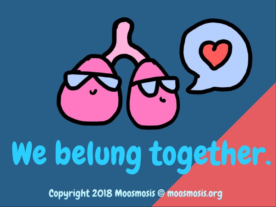 Moosmosis Lung Pun Comic_ We Belung together