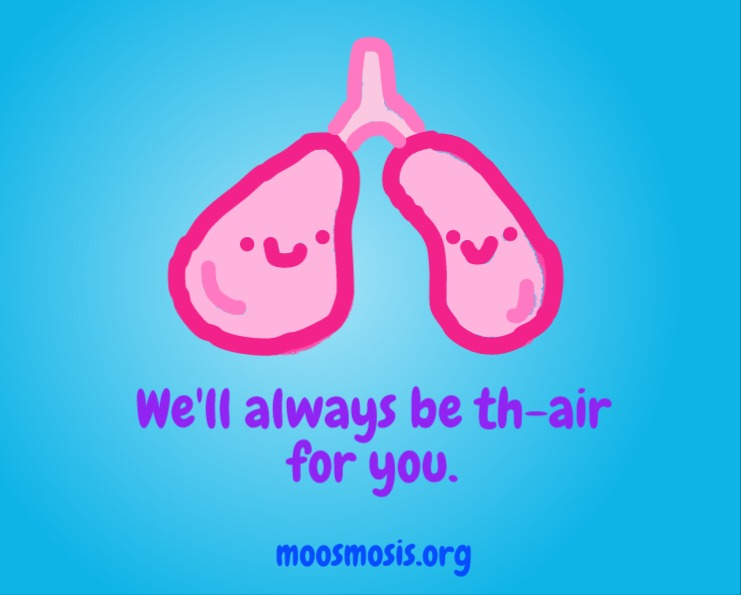 Moosmosis Education: Lung Pun Joke Comic