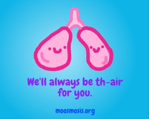 Moosmosis Education: Lung Pun Joke Comic