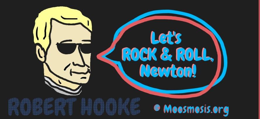 Robert Hooke Comic - Copyright Moosmosis.org