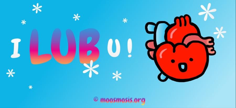 Cute Heart Circulatory System Joke, Pun, Comic